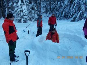 зимен курс за планински водачи в Мальовица