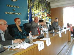 Заместник-министърът на културата Румен Димитров изтегли името на Румяна Иванова Христова от гр. Елин Пелин
