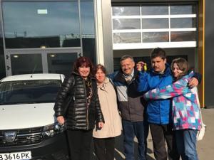 Тодор Томбев – спечелилият автомобил  от 100 НТО