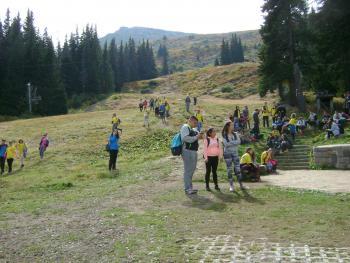 """Четвърти поход за ученици от хижа """"Алеко"""" до Черни връх"""