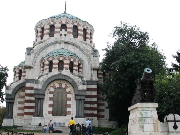 """Плевен – Мавзолей-параклис """"Св. Георги Победоносец"""""""