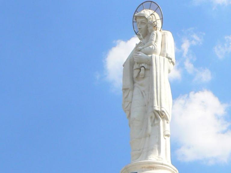 """Хасково – Монумент """"Света Богородица"""""""