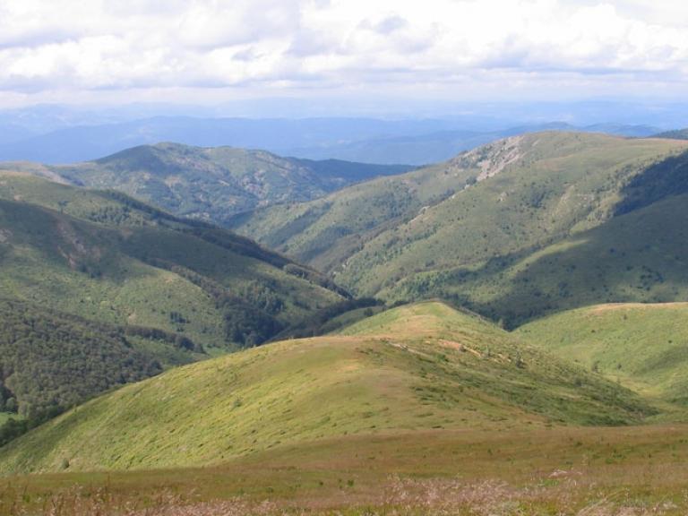 Връх Руен (вис. 2 251 м) – първенецът на Осоговска планина